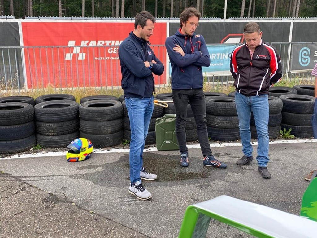 Circuit de karting Genk 2020 / Testday / Thierry Neuville - RS Sport